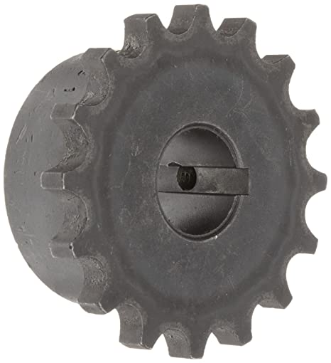 Inch 5//16 x 5//32 Keyway 4000 rpm Max Rotational Speed Martin 5016 Roller Chain Coupling Sintered Steel 1 3//8 Bore 3 25//32 OD 16 Teeth 1 7//16 Length