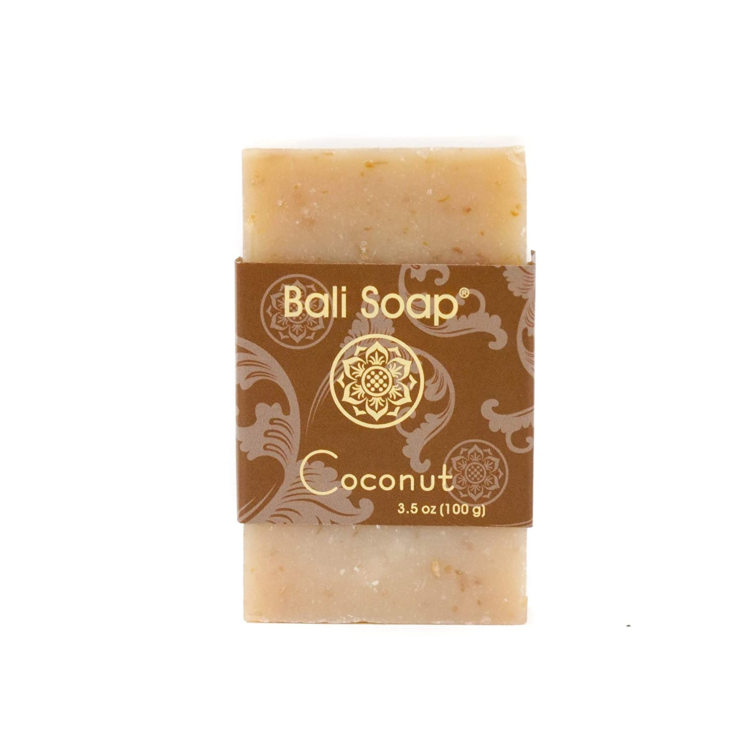 Bali Soap - Coconut Natural Soap Bar, Face or Body Soap Best for All Skin Types, For Women, Men & Teens, Pack of 12, 3.5 Oz each