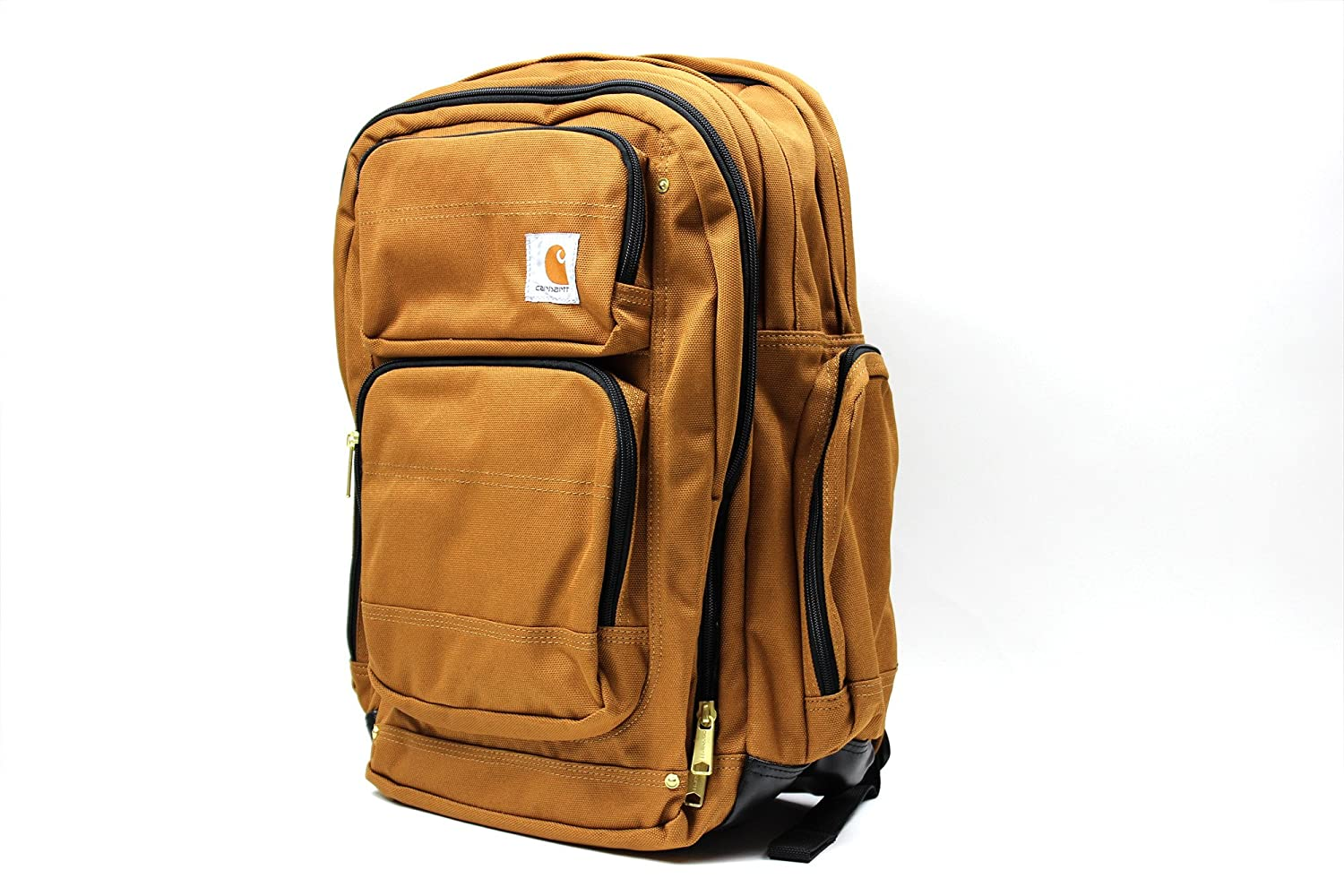 CARHARTT (カーハート) LEGACY DELUXE WORK PACK バックパック [並行輸入品] B073F3PZ3L CARHARTT BROWN