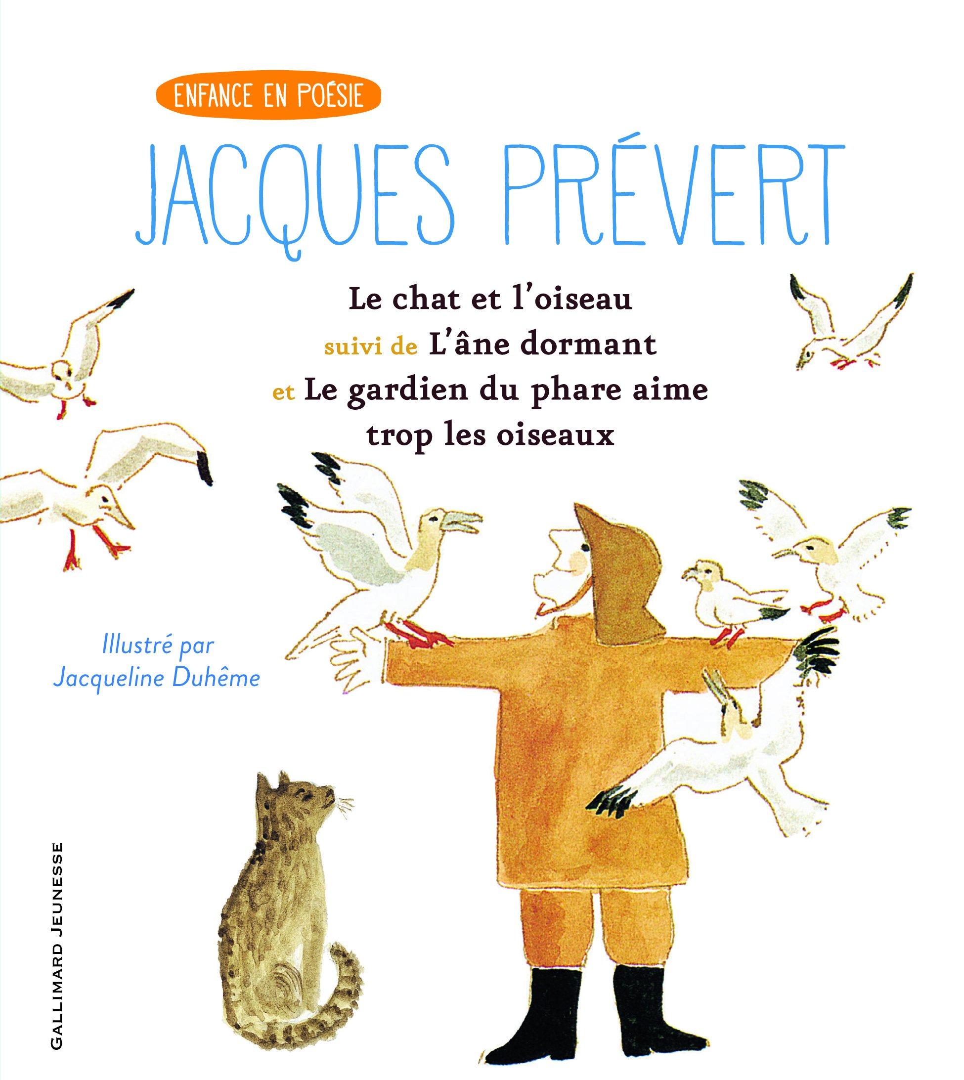 Le Chat Et Loiseaulâne Dormantle Gardien Du Phare
