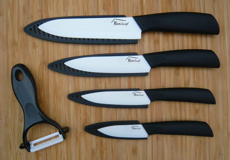 Amazon.com: Cuchillo de cerámica Set -5PCS Set, Heim Concept ...
