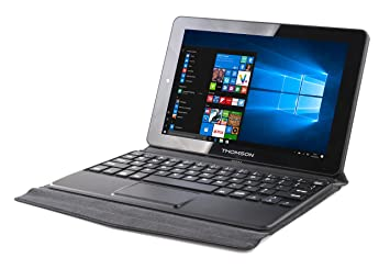 "Thomson Hero - Portátil Convertible 2 en 1 de 8.9"" (Intel Atom Z3735 Quad"