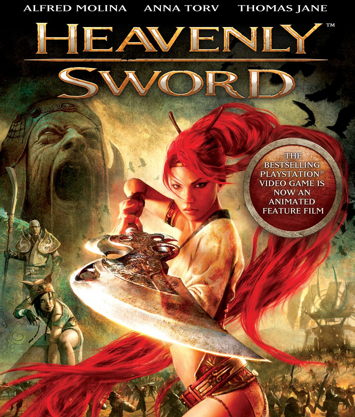 Amazon Com Heavenly Sword Blu Ray Anna Torv Thomas Jane