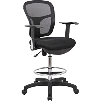 Amazon Com Office Factor Mesh Drafting Clerk Stool