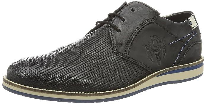 Bugatti 311256024000, Derby homme - Noir (schwarz 1000), 42 EU: Amazon.fr:  Chaussures et Sacs