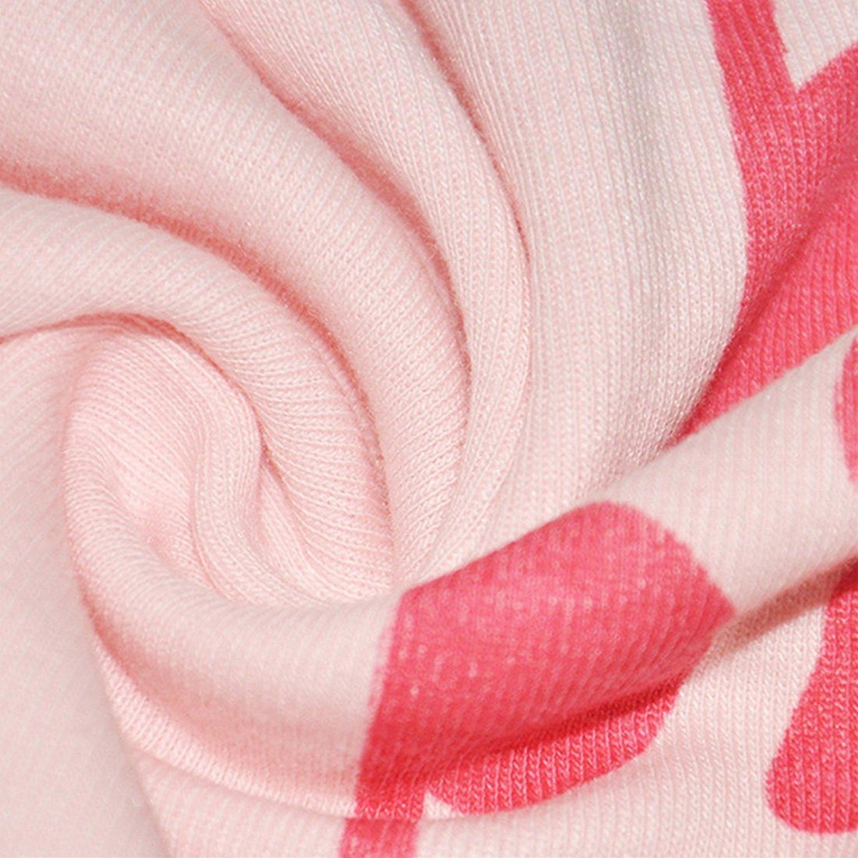 CMGD Kids Girls Child Chirstmas Pajamas Sleepwears 2pcs Tops Pants Sets Snowman