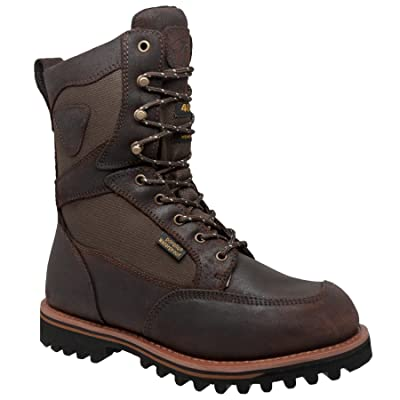 """Ad Tec Men's 11"""" Cordura Waterproof 400G Leather Boot Round Toe - 1614 