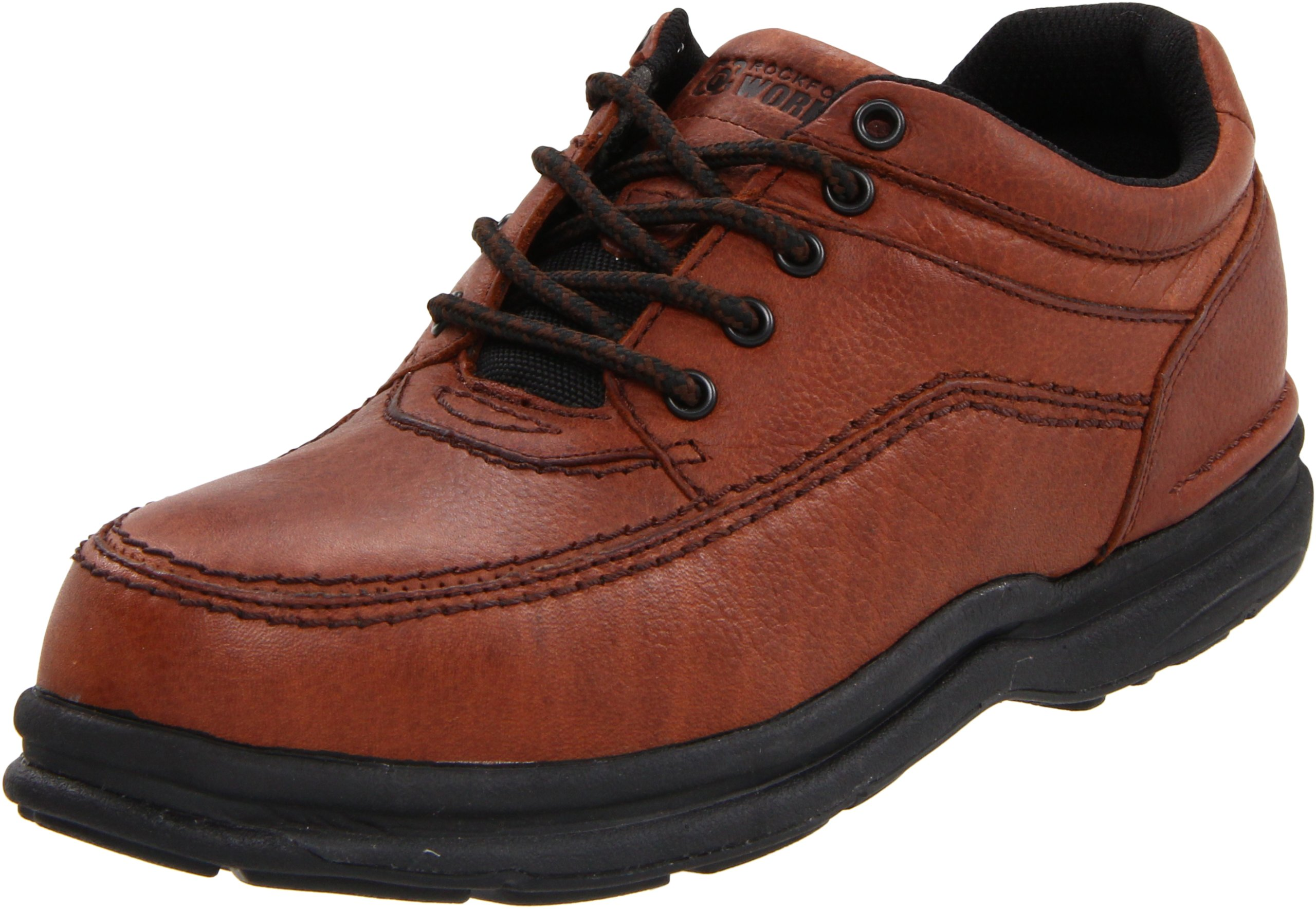 Rockport Work Men's RK6762 Work Shoe,Brown,9.5 W US