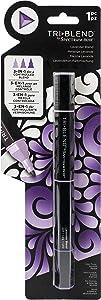 Spectrum Noir Blend Triblend Blendable Alcohol Marker 3 Colours in 1 Pen-Lavender