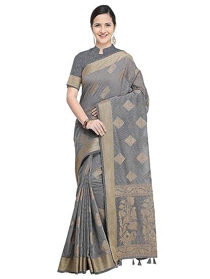 292adef88ecc36 Pisara Women Banarasi Jute Silk Saree