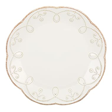 Lenox French Perle Accent Plate, White