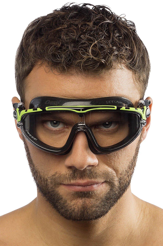 180 Degrees View Anti Fog Goggles Cressi Unisex Skylight Swim Goggles