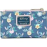 Loungefly Disney's Stitch And Scrump Floral Bi-Fold Wallet