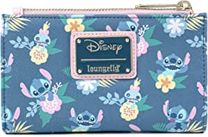 Loungefly Disney's Stitch And Scrump Floral Bi-Fold Wallet