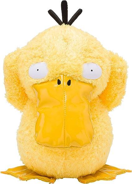 Amazon Com Pokemon Center Detective Pikachu Psyduck Plush Toys
