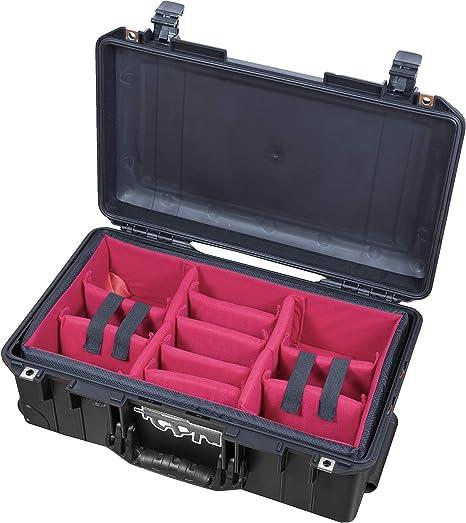 A-Mode - Juego de divisores Acolchados para cámaras Peli Pelican 1535 Air (sin Estuche): Amazon.es: Electrónica