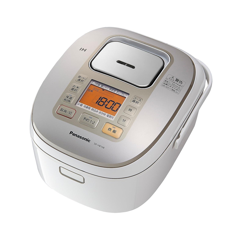 Panasonic 5.5 rice cooker IH type white SR-HB 104-W