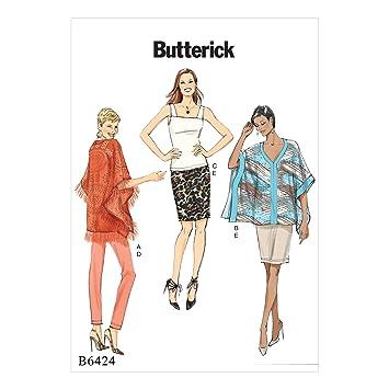 fb6b57699 Butterick Patterns MCCALL 's Patterns 6424 E5, Patrones de Costura ...