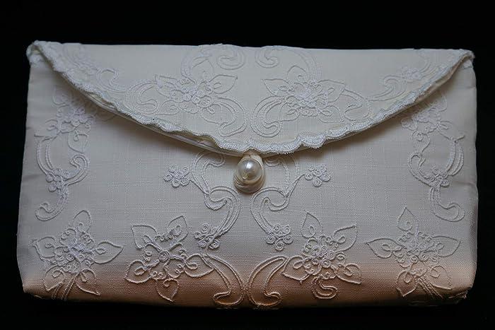 8c0066542b Amazon.com: Champagne Lace Clutch Purse, Envelope Clutch Purse, Philippines  Cutwork Embroidery Clutch, Bridal Clutch Purse, Wedding Clutch, ...