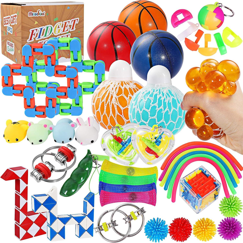 Sensory Fidget Toy Set Stressabbau Squeeze Toys F/ür Kinderleben dailylime Sensory Fidget Toy Set Sensory Fidget Toy Set