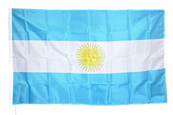 Bandera Selección Tifosi festeggiare Tifo Argentina Albiceleste Fútbol CM90 X 150 alta calidad, tela