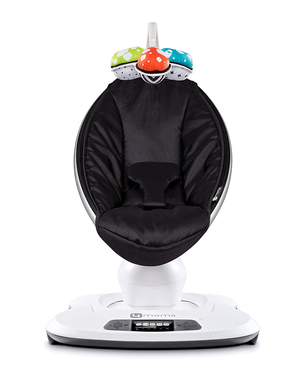 4moms 2015 mamaRoo Infant Seat with Bluetooth Classic Black