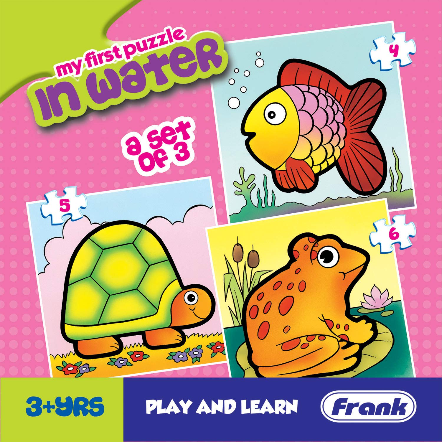 Frank  In Water Puzzle For 3 Year Old Kids And Above product image