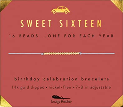 Amazon.com: Lucky Feather Sweet 16 regalos para niñas ...