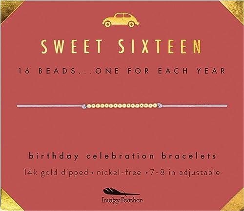 Amazon.com: Lucky Feather Sweet 16 regalos para niñas ...