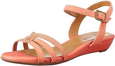 89b369d26bff6 Clarks Women's Bianca Crown Brown Leather Fashion Sandals - 3.5 UK/India (36  EU