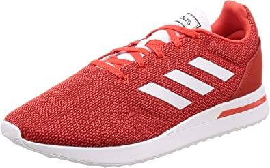 adidas Mens Run 70's Retro Running Jogging Active Trainers Sneakers - Red