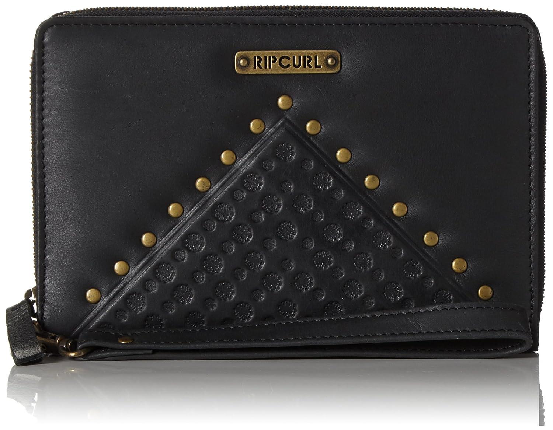 Rip Curl Mujer Cove RFID o/s Leather WLT Cartera, Color Negro, tamaño 19 x 2 x 14 cm RIPA5|#Rip Curl LWLCF1