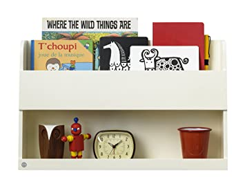 Hochbett Regal tidy books der originale bunk bed buddy hochbett regal in