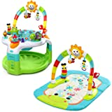 Bright Starts 2 in 1 Activity Gym and Saucer 60539-1