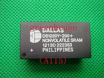 DS1220Y-200 DIP 16k Nonvolatile SRAM A115 1PCS ORIGINAL DALLAS DS1220Y-200