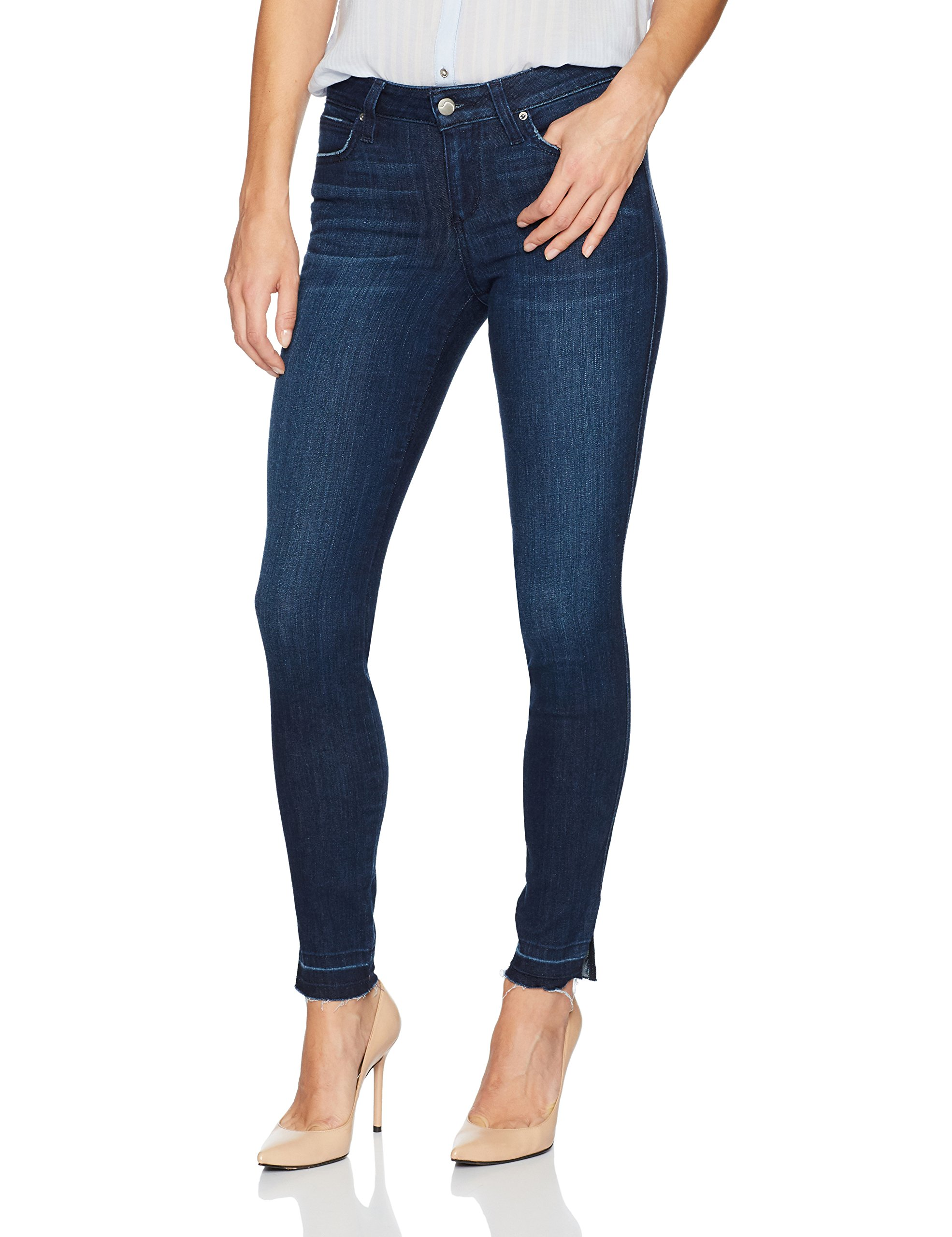 Joe's Jeans Women's Flawless Icon Midrise Skinny Ankle Jean, Lively, 25