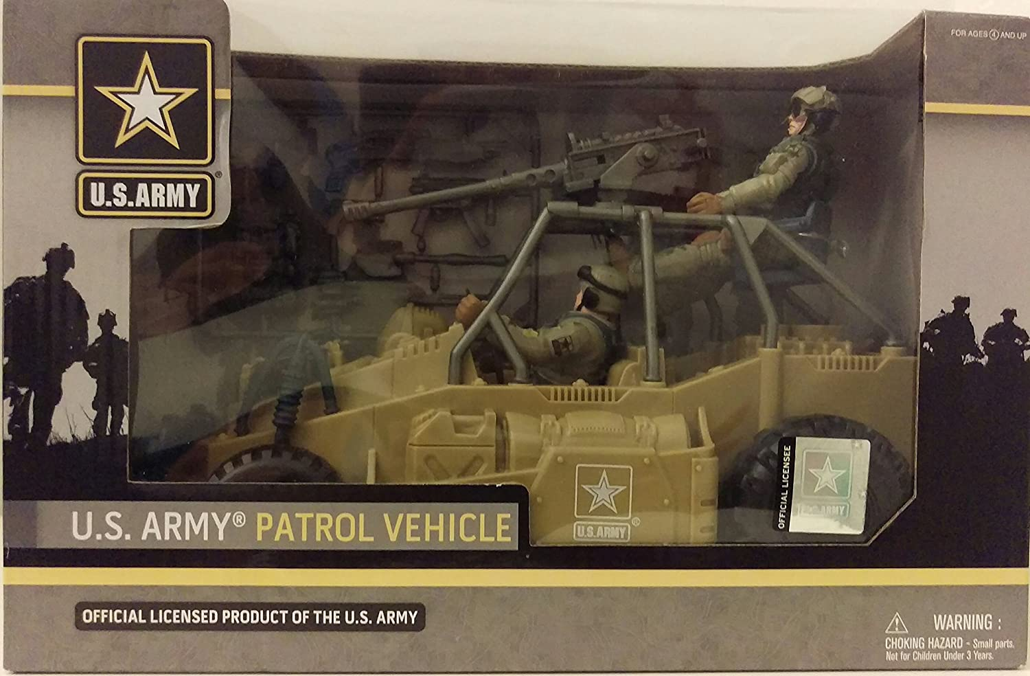 Official Licensed Product of the U.S. Army Army Patrol Vehicle U.S Excite Ltd.