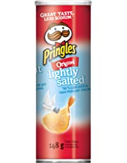 Pringles Lightly Salted Chips, 148 Grams