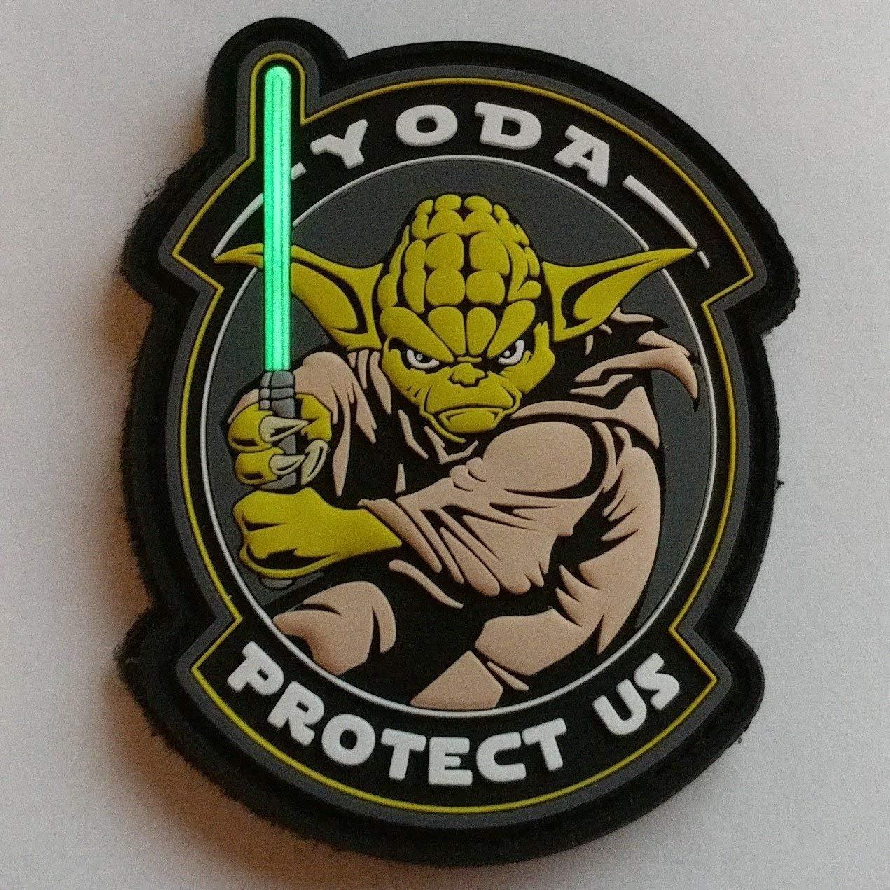 Velcro surface fastener patch Patch Star Wars Glow in the Dark