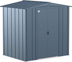Arrow Shed Classic 6' x 5' Outdoor Padlockable Steel Storage Shed Building