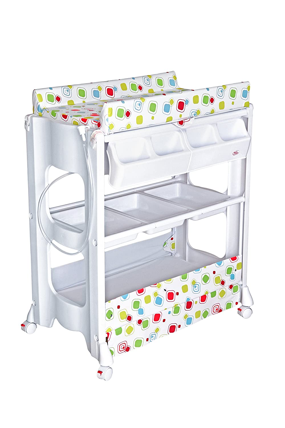 Bebe Style Baby Portable Changer (Unit and Bath) BB73DOTS