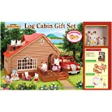 Sylvanian Families A1 Exclusive Log Cabin Gift Set With Added Value