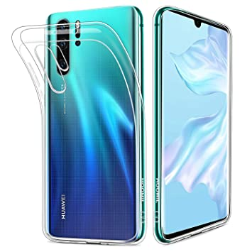 ef425034d8a HOOMIL Transparente Silicona Funda para Huawei P30 Pro, Clear Carcasa Case  para Huawei P30 Pro, 3522EPX: Amazon.es: Electrónica