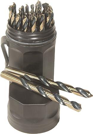 Eurobit 0215 Long Drill Bit HSS-G for Metal 16 x 227 mm DIN 340
