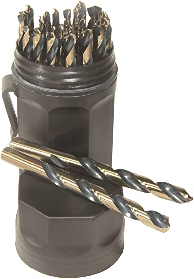 Viking Drill and Tool 23790 T Type 260 118 Degree HSS Screw Machine Length Drill Bit 6 Pack