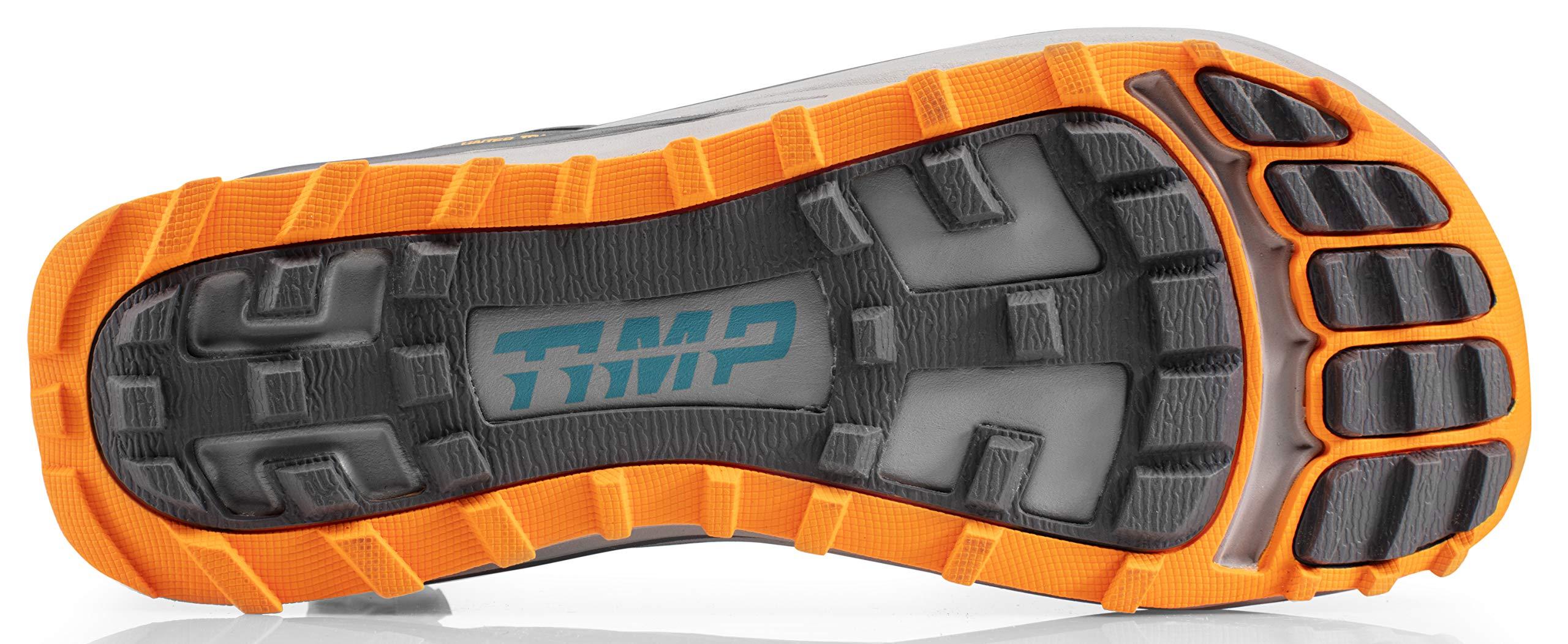Altra AFM1957F Men's TIMP 1.5 Trail Running Shoe, Gray/Orange - 8.5 D(M) US by Altra (Image #3)