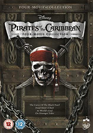 Pirates Of The Caribbean 1 4 Box Set Dvd Amazoncouk Yun Fat