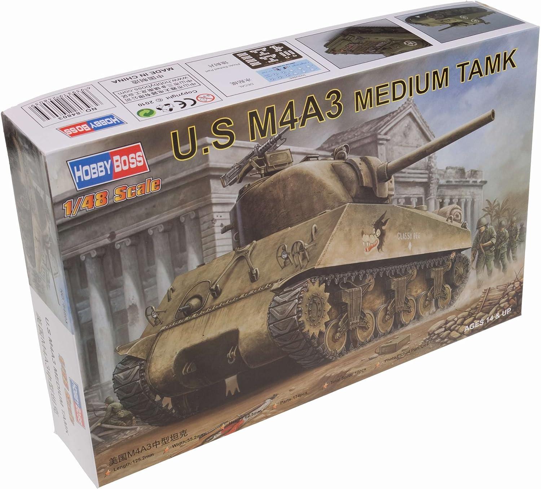 Hobby Boss 84803 U.S M4A3 Tanque