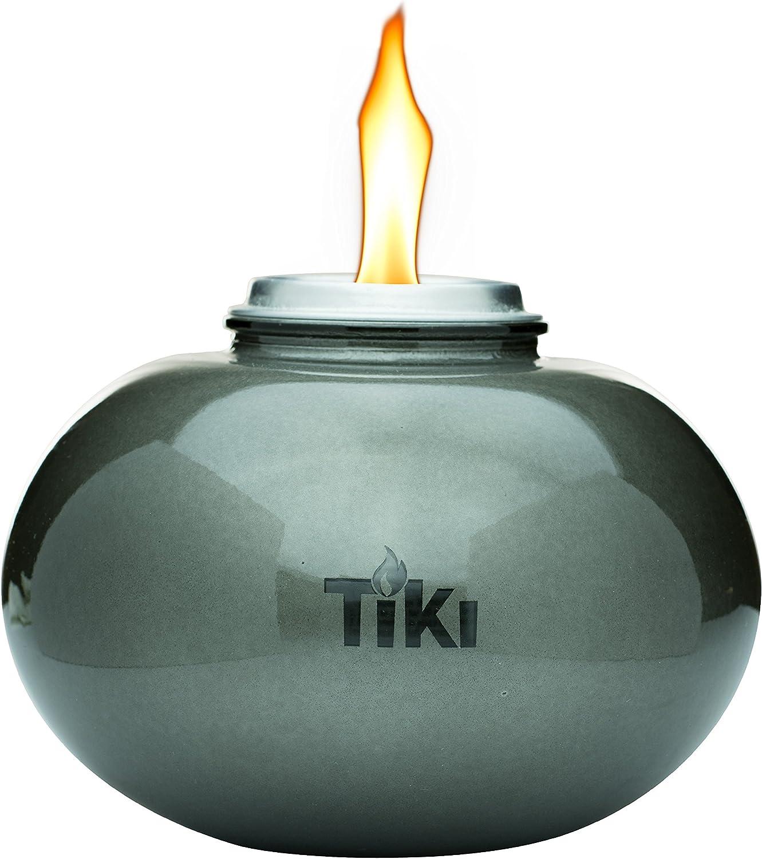 TIKI Clean Burn Firepiece Roundwick Burner System Replacement Fiberglass Torch