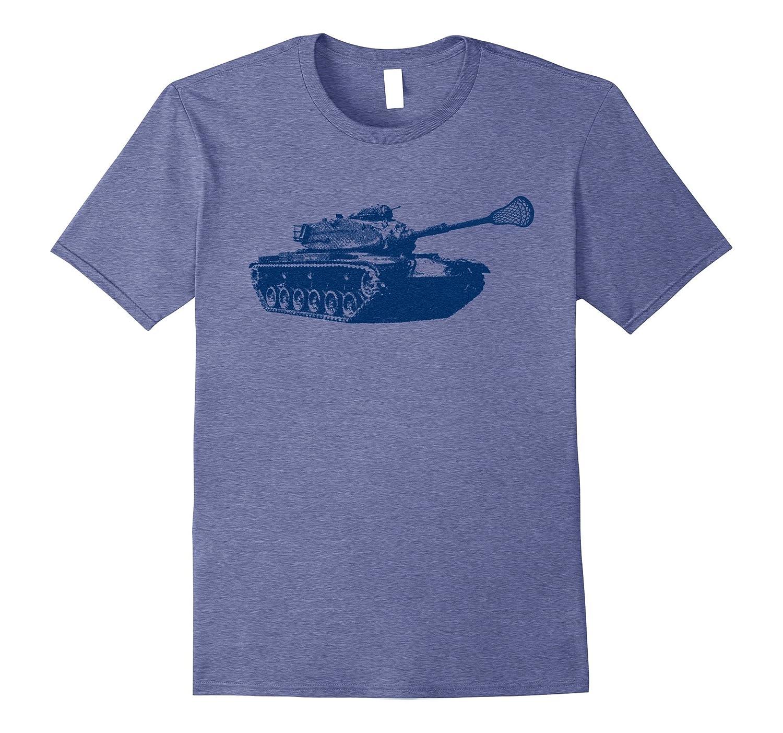 Lacrosse T-Shirt - Cool Tank Lacrosse Stick Tee-RT